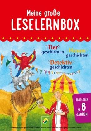 Meine große Leselernbox: Tiergeschichten, Hexengeschichten, Detektivgeschichten