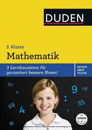 Wissen - Üben - Testen: Mathematik 3. Klasse
