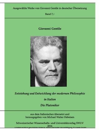 Entstehung und Entwicklung der modernen Philosophie in Italien