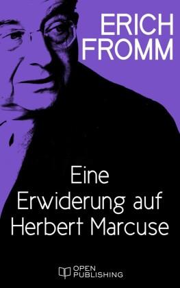 Eine Erwiderung auf Herbert Marcuse