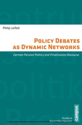 Policy Debates as Dynamic Networks