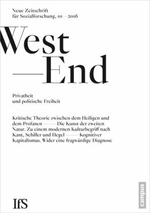 WestEnd 2016/01: Privatheit und politische Freiheit