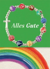 Alles Gute, mit Armband (bunte Perlen groß) Cover