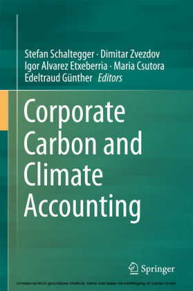 Corporate Carbon and Climate Accounting