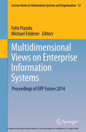 Multidimensional Views on Enterprise Information Systems