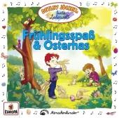 Frühlingsspaß und Osterhas, 1 Audio-CD Cover