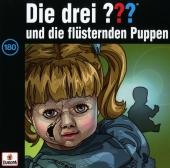 Die drei ??? und die flüsternden Puppen, 1 Audio-CD Cover