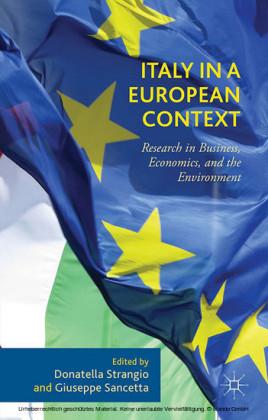 Italy in a European Context