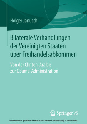 Bilaterale Verhandlungen der Vereinigten Staaten über Freihandelsabkommen