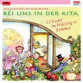 Bei uns in der Kita - 22 Lieder Frühling & Sommer, 1 Audio-CD Cover