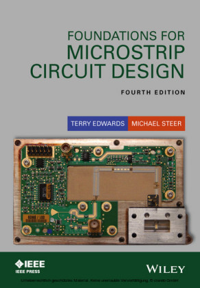 Foundations for Microstrip Circuit Design