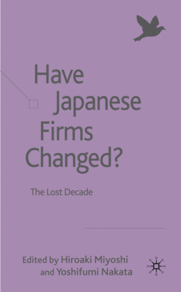 Have Japanese Firms Changed?