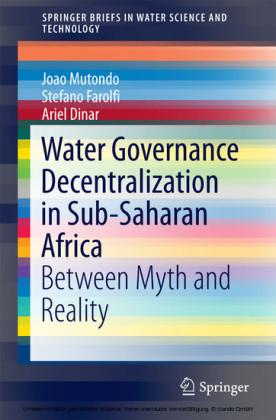 Water Governance Decentralization in Sub-Saharan Africa