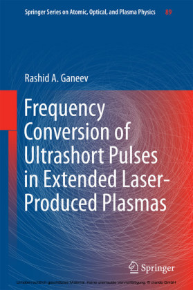 Frequency Conversion of Ultrashort Pulses in Extended Laser-Produced Plasmas