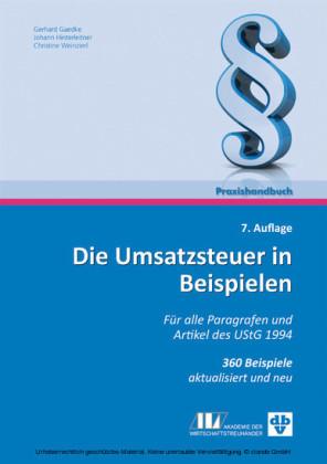 Die Umsatzsteuer in Beispielen (Ausgabe Österreich)