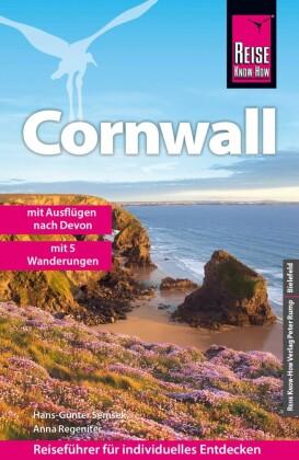 Reise Know-How Cornwall - mit fünf Wanderungen