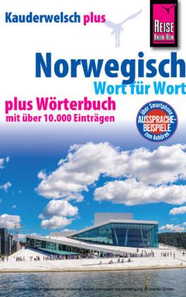 Reise Know-How Sprachführer Norwegisch - Wort für Wort plus Wörterbuch: Kauderwelsch Band 30+