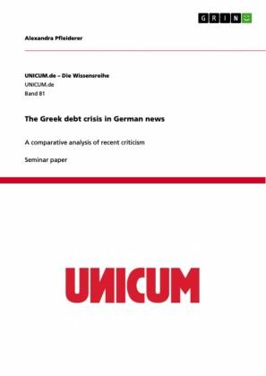 The Greek debt crisis in German news