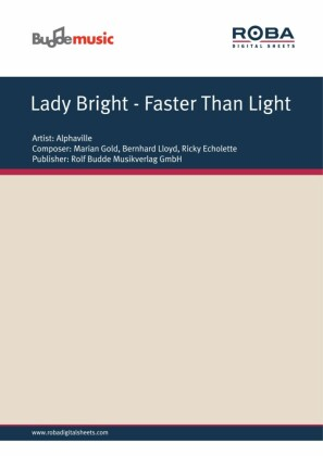Lady Bright - Faster Than Light
