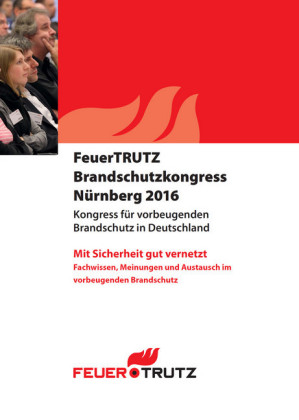 Tagungsband FeuerTRUTZ Brandschutzkongress 2016 - E-Book (PDF)