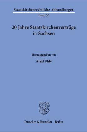 20 Jahre Staatskirchenverträge in Sachsen