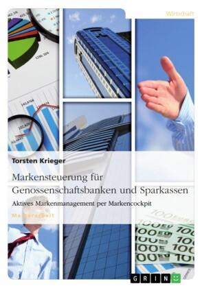 Markensteuerung für Genossenschaftsbanken und Sparkassen. Aktives Markenmanagement per Markencockpit