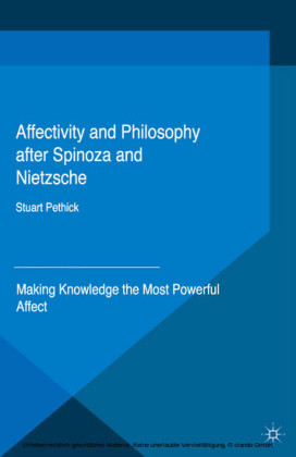 Affectivity and Philosophy after Spinoza and Nietzsche