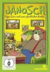 Janosch - Papa Löwe und seine glücklichen Kinder, 2 DVD Cover
