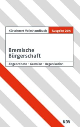 Kürschners Volkshandbuch Bremische Bürgerschaft 19. Wahlperiode
