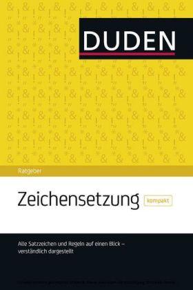 Duden Ratgeber Zeichensetzung Kompakt Download E Book