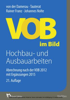 VOB im Bild Hochbau- und Ausbauarbeiten - E-Book (PDF)