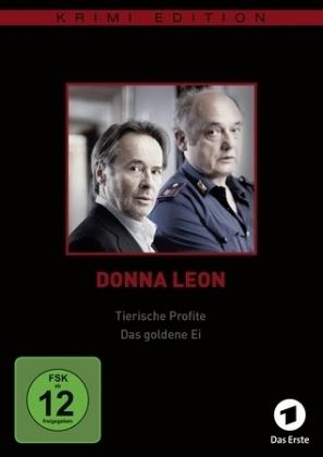 Donna Leon: Tierische Profite / Das goldene Ei (Krimiedition), 1 DVD