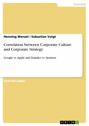 Correlation between Corporate Culture and Corporate Strategy
