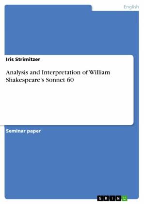 Analysis and Interpretation of William Shakespeare's Sonnet 60