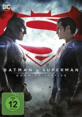 Batman V. Superman: Dawn Of Justice, DVD Cover