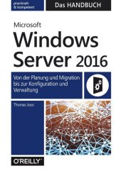 Microsoft Windows Server 2016 - Das Handbuch Cover