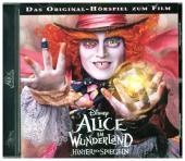 Alice im Wunderland - Hinter den Spiegeln - Hörspiel zum Kinofilm, Audio-CD Cover