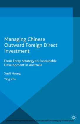 Managing Chinese Outward Foreign Direct Investment