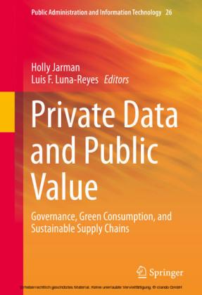 Private Data and Public Value