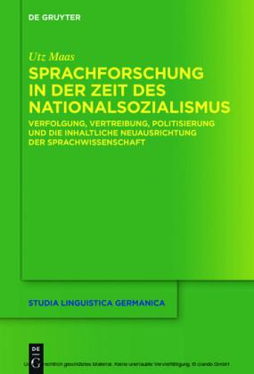 Sprachforschung in der Zeit des Nationalsozialismus