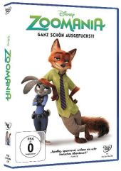 Zoomania, 1 DVD Cover