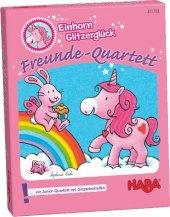 Einhorn Glitzerglück, Freunde-Quartett (Kartenspiel)