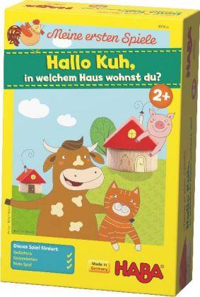 Meine ersten Spiele, Hallo Kuh, in welchem Haus wohnst du (Kinderspiel)