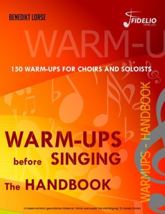 Warm-ups before singing