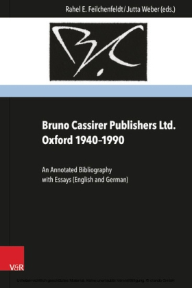 Bruno Cassirer Publishers Ltd. Oxford 1940-1990