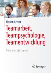 Teamarbeit, Teampsychologie, Teamentwicklung Cover