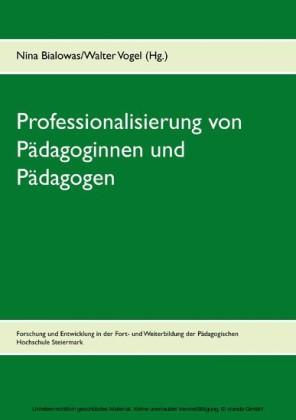 Professionalisierung von Pädagoginnen und Pädagogen
