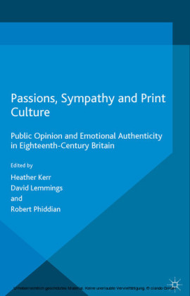 Passions, Sympathy and Print Culture