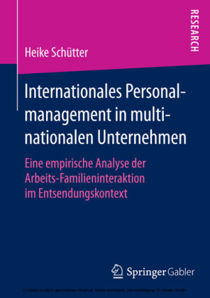 Internationales Personalmanagement in multinationalen Unternehmen