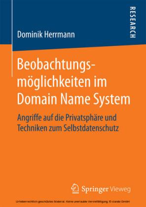 Beobachtungsmöglichkeiten im Domain Name System